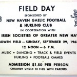 Admission Ticket from the very first Festival in 1963